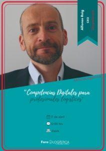 """Webinar: """"Competencias Digitales para profesionales logísticos»"""