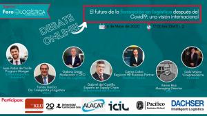 Debate Online: El futuro de la formación logística despues de el covid 19