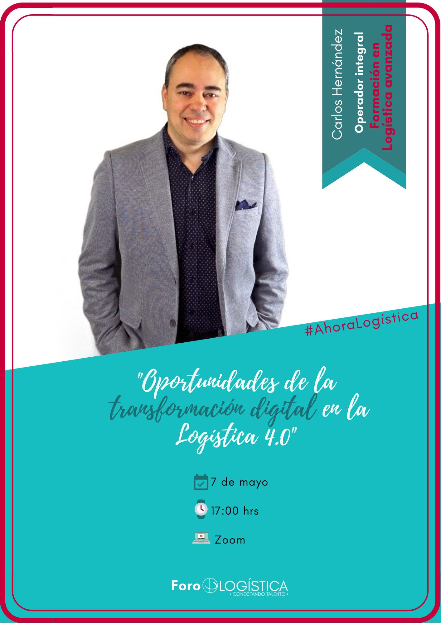 Webinar: «Oportunidades de la transformación digital en la Logística 4.0»