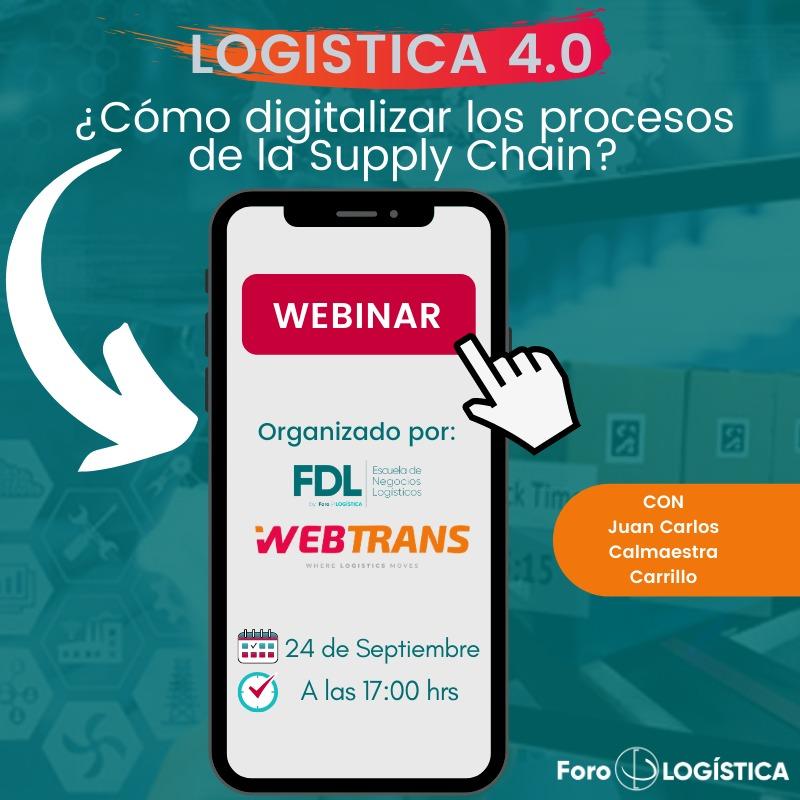 """""""Como digitalizar los procesos de la Supply Chain»"""